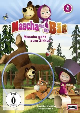Mascha und der Bär, Folge 04 - Mascha geht zum Zirkus