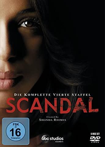 Scandal - Die komplette vierte Staffel [6 DVDs]