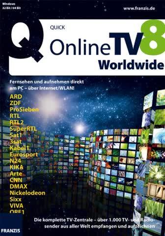 Franzis Online TV 8 Worldwide