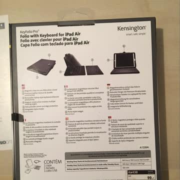 iPad Air Cover mit Bluetooth-CH-Tastatur