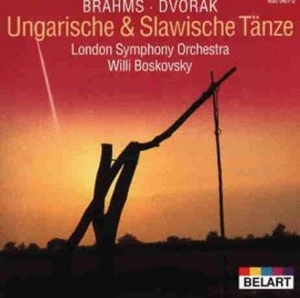 Johannes Brahms, Antonín Dvorák, London Symphony Orchestra, Willi Boskovsky - Ungarische & Slawische Tänze