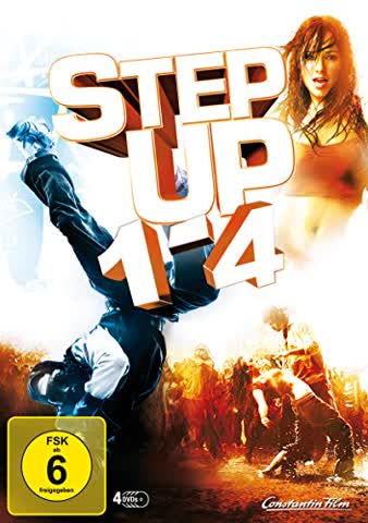 Step Up 1-4 [4 DVDs]