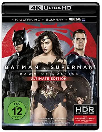 Batman v Superman: Dawn of Justice (4K Ultra HD + Blu-ray)