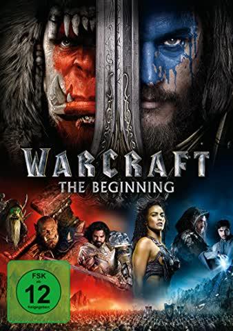 WARCRAFT: THE BEGINNING - MOVI [DVD] [2016]