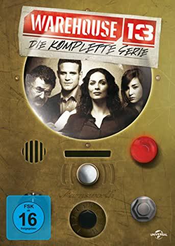 Warehouse 13 - Die komplette Serie [16 DVDs]