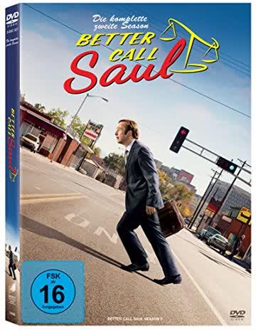 Better Call Saul - Die komplette zweite Season (3 Discs)