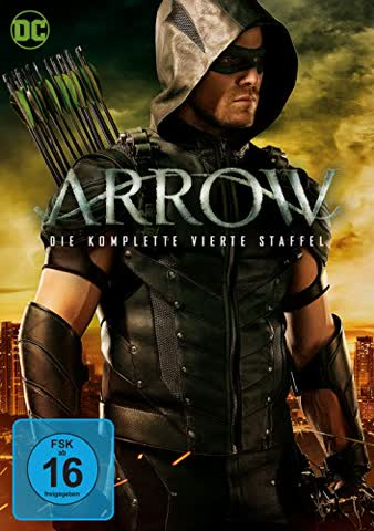 Arrow - Die komplette vierte Staffel [5 DVDs]