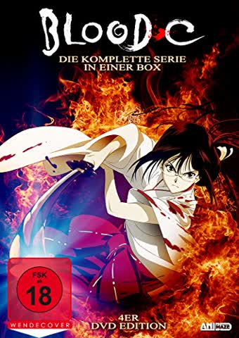 BLOOD C - Box (DVD) (FSK 18)