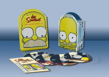Die Simpsons - Die komplette Season 6 (Kopf-Tiefzieh-Box, Collector's Edition, 4 DVDs)