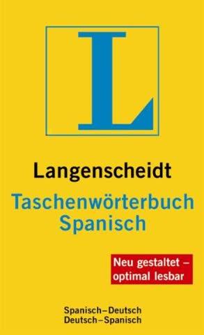 Langenscheidt Taschenwörterbuch Spanisch: Spanisch-Deutsch/Deutsch-Spanisch