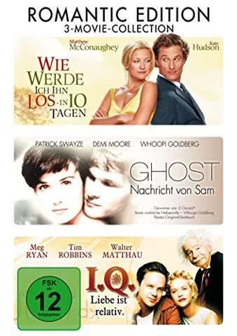 Ghost - Wie werde ich in los .. in 10 Tagen - I.Q. - 3DVD Box