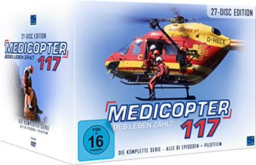 Medicopter 117 - Jedes Leben zählt - Die komplette Serie & Pilotfilm (27 Disc Set)