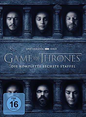 Game of Thrones - Staffel 6 [5 DVDs]