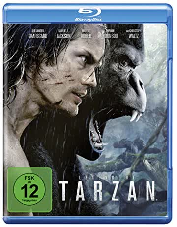 Legend of Tarzan [Blu-ray]