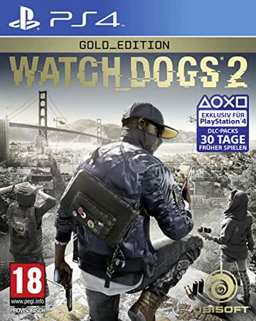 Watch_Dogs 2 - Gold Edition - [Playstation 4] - [AT-PEGI]