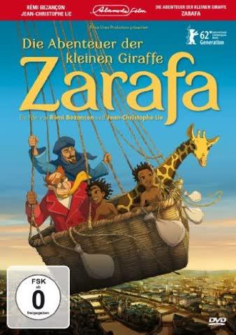 Die Abenteuer der kleinen Giraffe Zarafa (DVD)