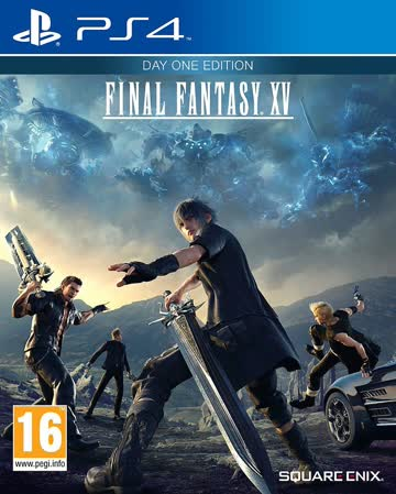 Final Fantasy XV Day One Edition (PS4) (PEGI)