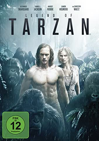 Legend of Tarzan [DVD] [2016]