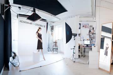 Fotostudio Hintergrundsystem