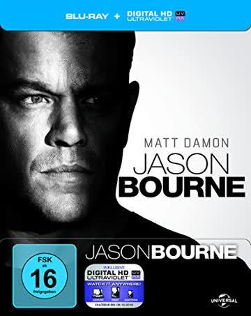 Jason Bourne - Steelbook [Blu-ray] [Limited Edition]