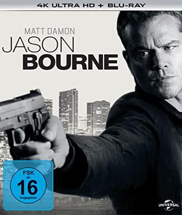 Jason Bourne (4K Ultra HD) (+ Blu-ray)