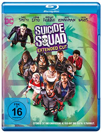 Suicide Squad inkl. Extended Cut [Blu-ray]