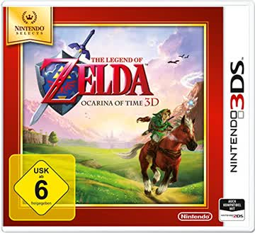 Nintendo The Legend of Zelda: Ocarina of Time 3DS & 2DS USK: 6