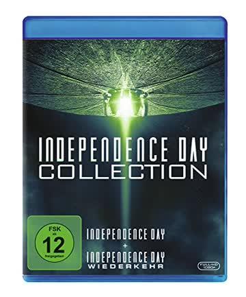 Independence Day 1+2 - Box Set [Blu-ray]