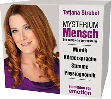 Mysterium Mensch-Box. Mimik / Körpersprache / Stimme / Physiognomik, 4 CDs