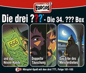 Die Drei ??? 34/3er Box-Folgen 101-103