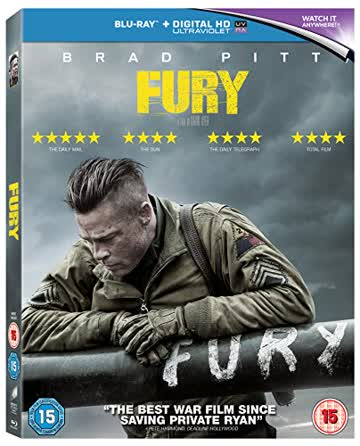 Fury [Blu-ray] [UK Import]