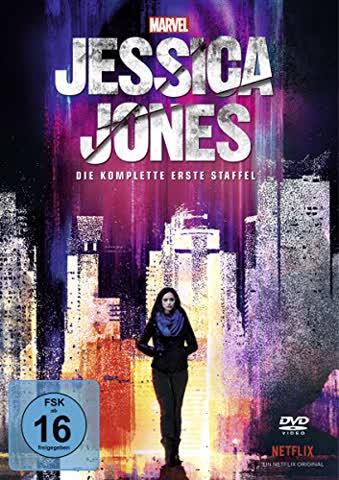 Marvel's Jessica Jones - Die komplette erste Staffel [4 DVDs]