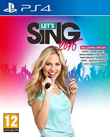 Let's Sing 2016 (PS4) AT-PEGI