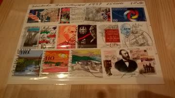 Deutsche Bundespost 1997 15 Werte