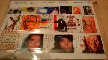 Deutsche Bundespost 2000 16 Werte