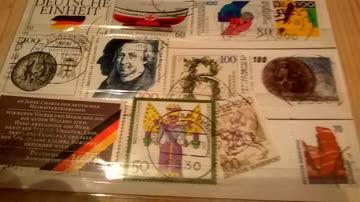 Deutsche Bundespost 1990 12 Werte