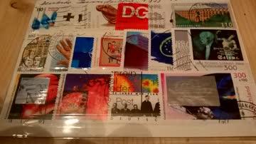 Deutsche Bundespost 1999 18 Werte