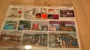 Deutsche Bundespost 2000 11 Werte