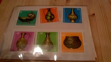 Schöne 6 Briefmarken mit Zertifikat