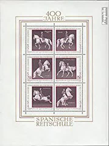 Spanische Reitschule 400 Jahre briefmarken