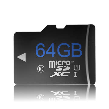 Micro SD Card 64GB Class 10 Memory Card TOP ZUSTAND!!!!!!!!
