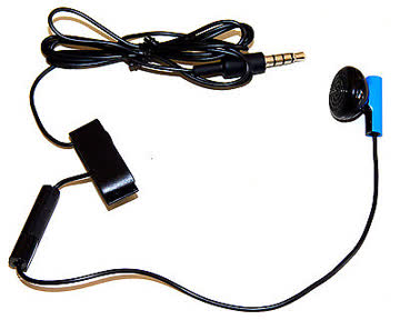 Original SONY Playstation 4 In Ear Headset Schwarz MONO NEU!