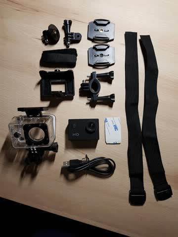 DU Action Camera Waterproof