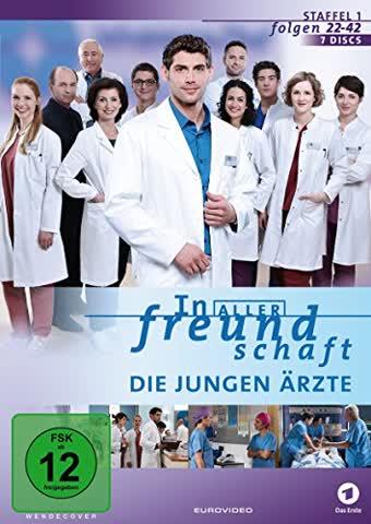 In aller Freundschaft: Die jungen Ärzte - Staffel 1.2 (Folgen 22-42) [7 DVDs]