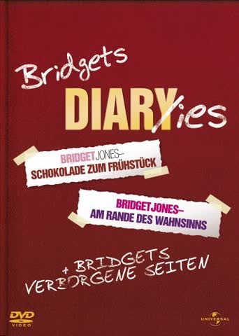 Bridget Jones: Schokolade zum Frühstück / Am Rande des Wahnsinns [3 DVDs]