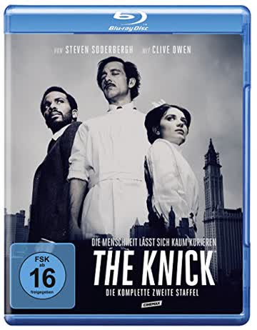 The Knick - Die komplette 2. Staffel [Blu-ray]