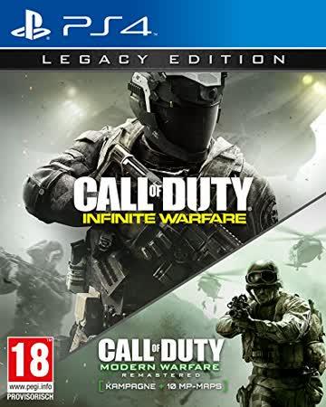 Call of Duty: Infinite Warfare - Legacy Edition [AT Pegi] - [PlayStation 4]