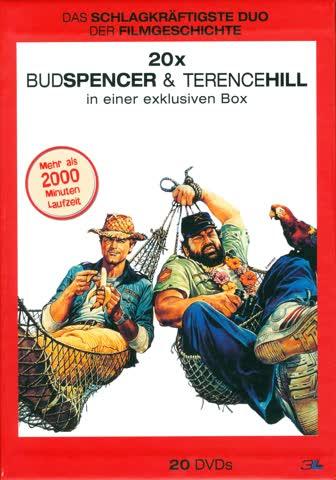 Bud Spencer & Terence Hill Box - (Slimcase-Box, 20 DVDs)
