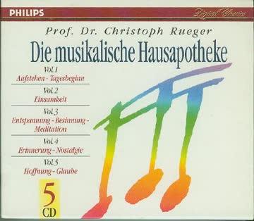 Christoph Rueger - Die musikalische Hausapotheke Vol. 1-5