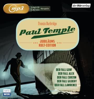 Paul Temple Jubiläums-Kult-Edition: Curzon/Gilbert/Lawrence/Genf/Alex